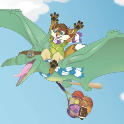 Trixie's Joyride to the Park