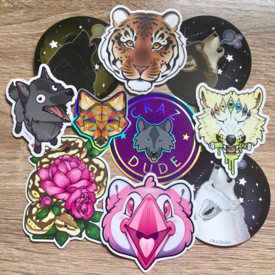 Vinyl Stickers & Sticker Sheets