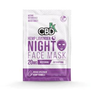 A pack of CBD Face Mask from CBDfx