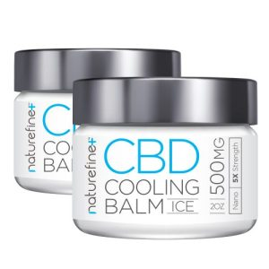 a pack of CBD Cooling Balm from Nature Fine+ | Craze CBD Supply