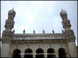 Closer view of Qutb Shahi Tombs