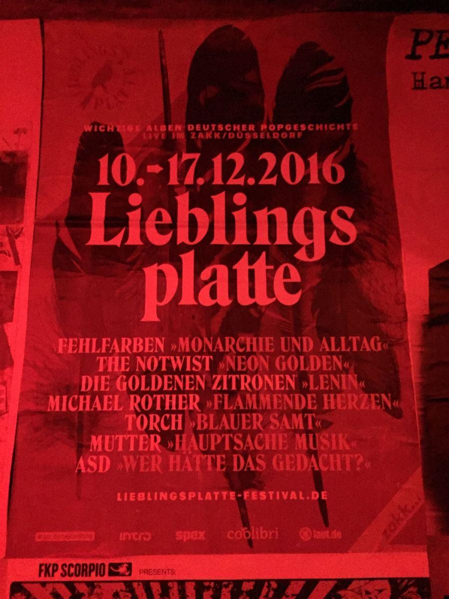Vorbericht: Lieblingsplatte-Festival (10.-17.12.2016)
