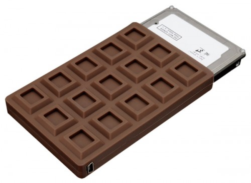 chocolate bar hdd case 500x366 Chocolate Bar HDD Case