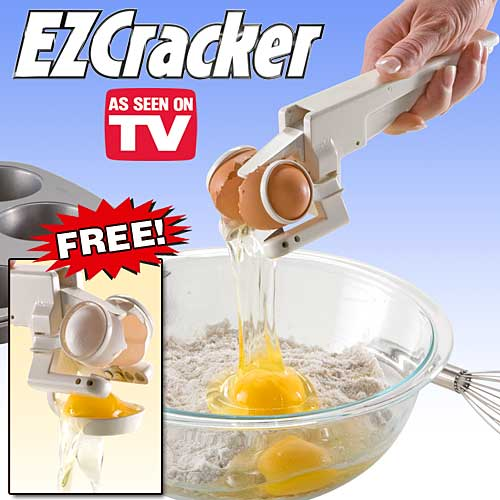 ez cracker egg separator EZ Cracker Egg Separator Holds the Shells