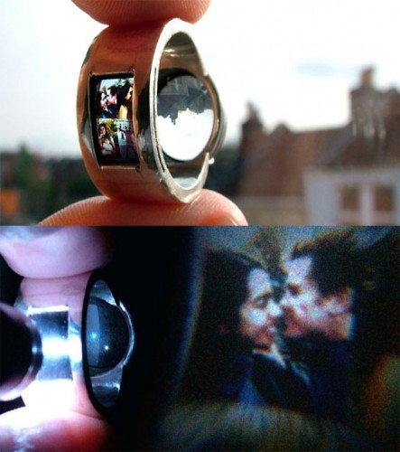 Projector ring 443x500 Projector Ring is Geeky Romantic
