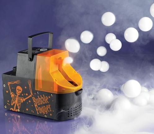 Eine Seifenblasen-Nebel-Maschine für zu Hause