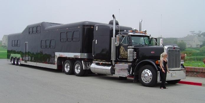 Trailer Semi Pimped Truck
