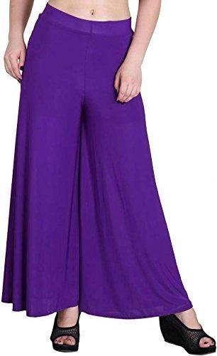 %Purple Plazzo pant