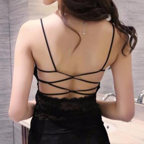%black lace top