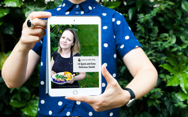 "Get Free My First E-Book ""10 Quick and Easy Delicious Salads"""