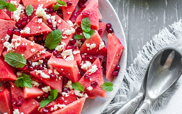 Watermelon Feta Salad. The Perfect Summer Salad!