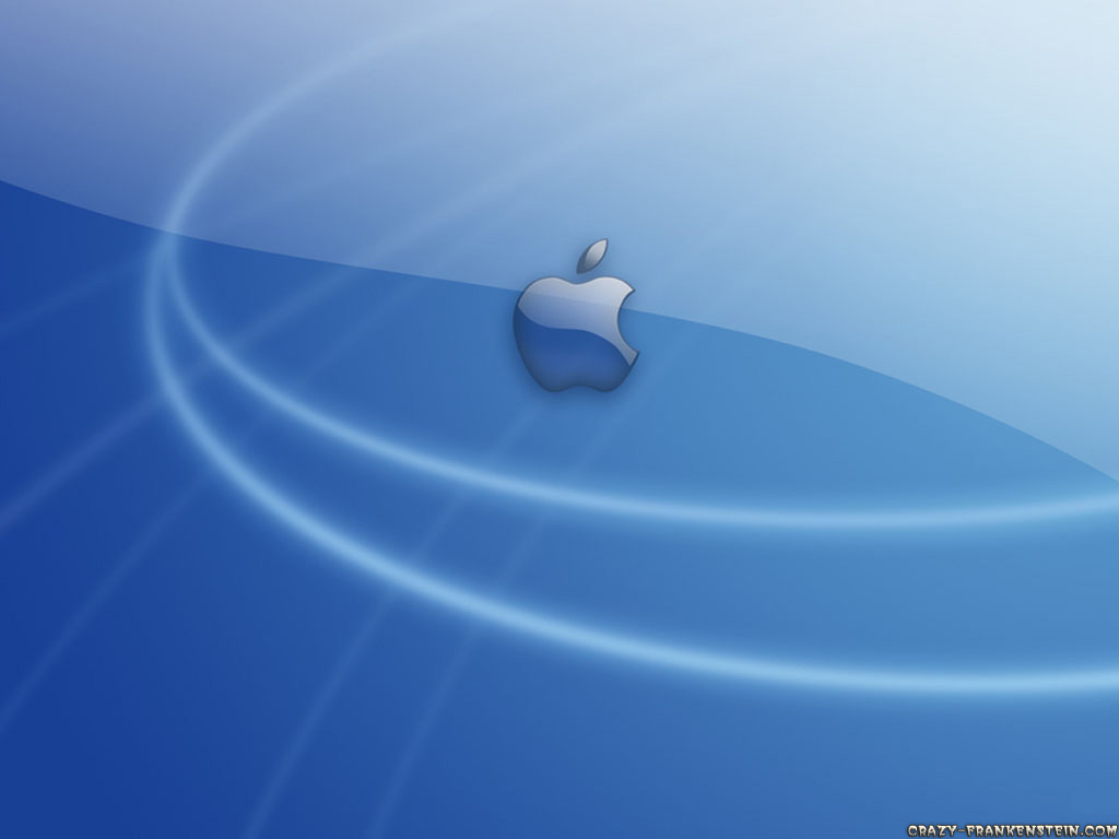 Wallpaper: Blue Mac wallpapers. Resolution: 1024x768. Size: 68 KB