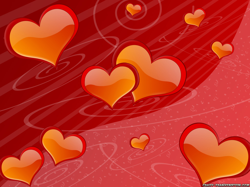 Wallpaper: Hearts Valentine wallpaper. Resolution: 1024x768. Size: 473 KB