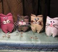 Шьем котиков своими руками