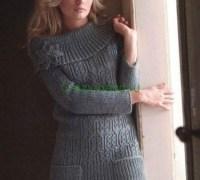 Удлиненный свитер или платье