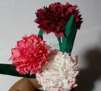 Как сделать гвоздички своими руками