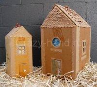 Дом из коробки своими руками