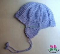 Осенняя детская шапочка