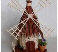 Плетем мельницу своими руками