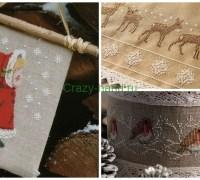 Новогодняя вышивка крестом