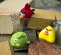 Валяем птичек и поросенка :)