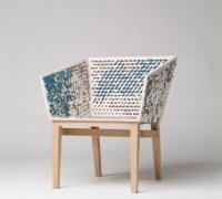 Шерстянные стулья от дизайнера Сюзанн Вестпал