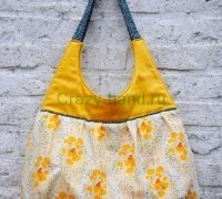 Красивая летняя сумка своими руками