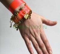 Простенький браслет своими руками