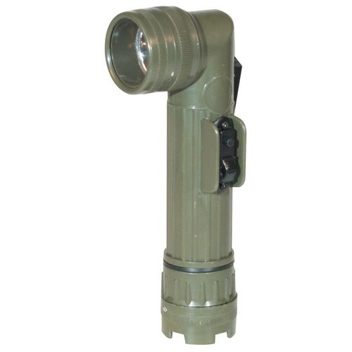 Anglehead Flashlight with Switchguard