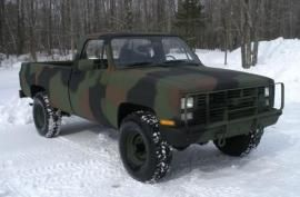 SOLD Chevy M1028A1 Utility Vehicle