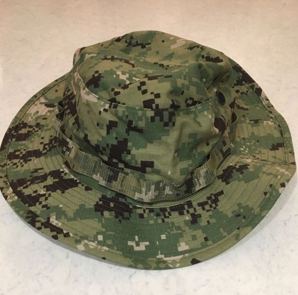 NEW NWU Type III FROG Combat AOR2 US Navy USN BOONIE HAT