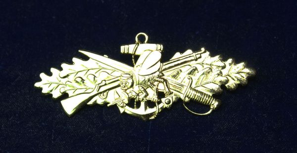US Navy Officer Sea Bee Badge