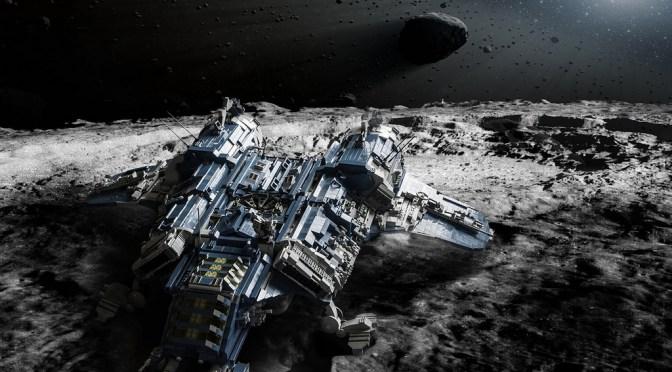 The Last Mission – LEGO Sci-Fi comic book by Michał Kazmierczak