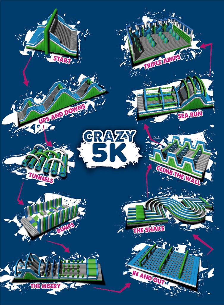 Crazy 5K · Running Events