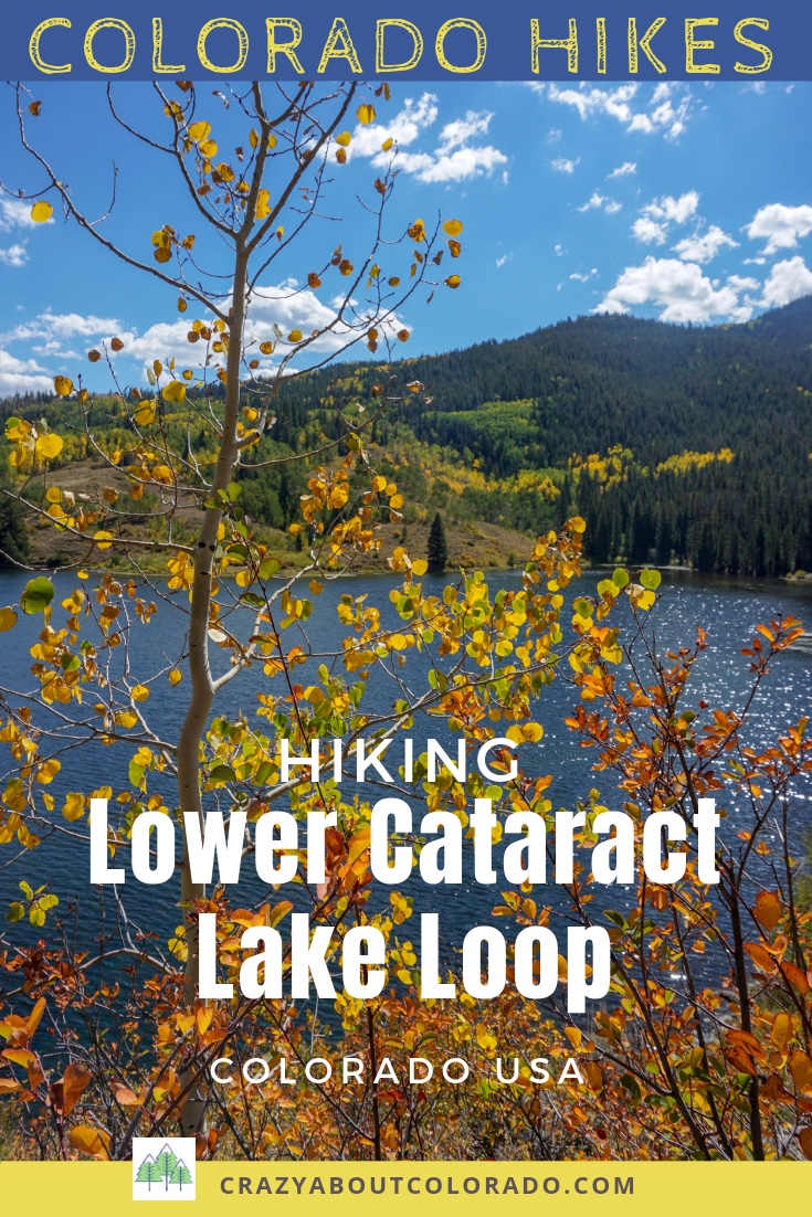 Lower Cataract Lake trail, easy hiking near Dillon, Easy hiking trails in Colorado, snowshoeing in Colorado, Great trail running trails in Colorado, hiking, fishing, camping in Colorado, Colorado Lake hiking trails, best family friendly hiking in Colorado, Colorado vacation, colorado national forest hikes, where to hike for beginners, beginner snowshoe trails in CO