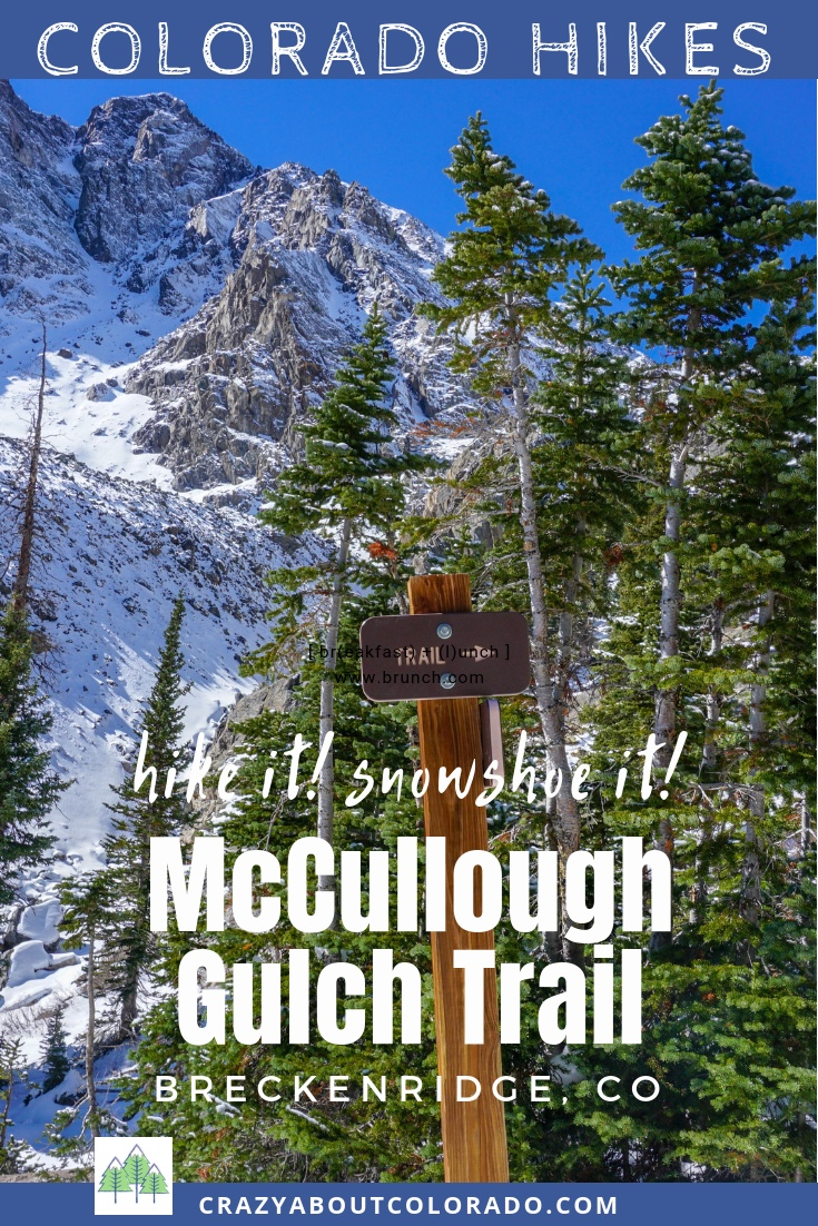 White Falls Loop, McCullough Gulch Trail, Trails near Breckenridge, Snowshoeing in Colorado, Colorado vacation