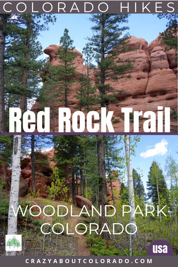 Colorado Hikes, Red Rock Trail, Woodland Park hikes, hiking trails, Colorado adventures, family friendly hikes, hiking trails near Colorado Springs, where to go with kids, outside, off the beaten path in Colorado Springs, easy hikes, Mule Trail, Divide CO, Woodland Park,