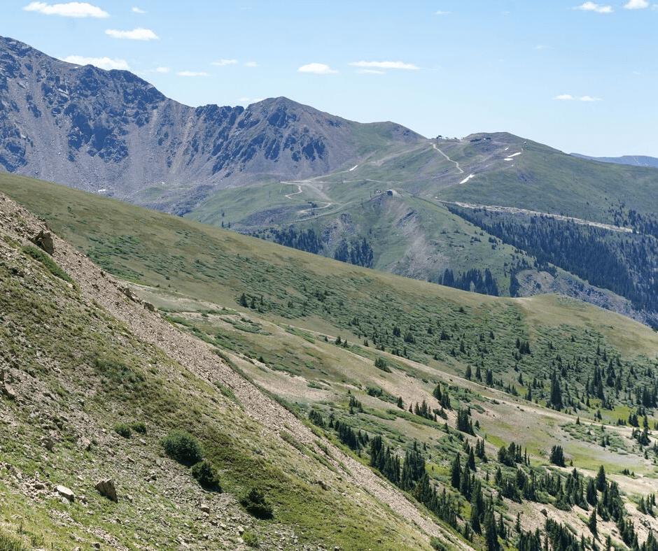 West Ridge Trail, Loveland Ski Area, Loveland Pass, hiking trails, Colorado hikes, Best hikes in Summit County, Keystone, A Basin Ski Resort, Where to hike in Colorado