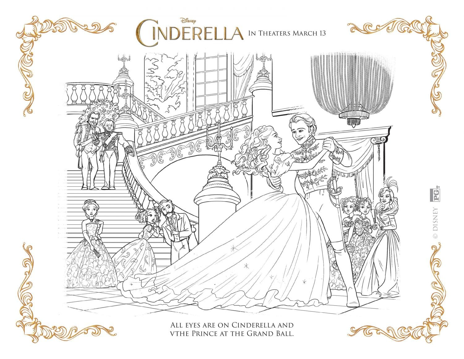 new disney 39 s cinderella coloring pages and activity sheets