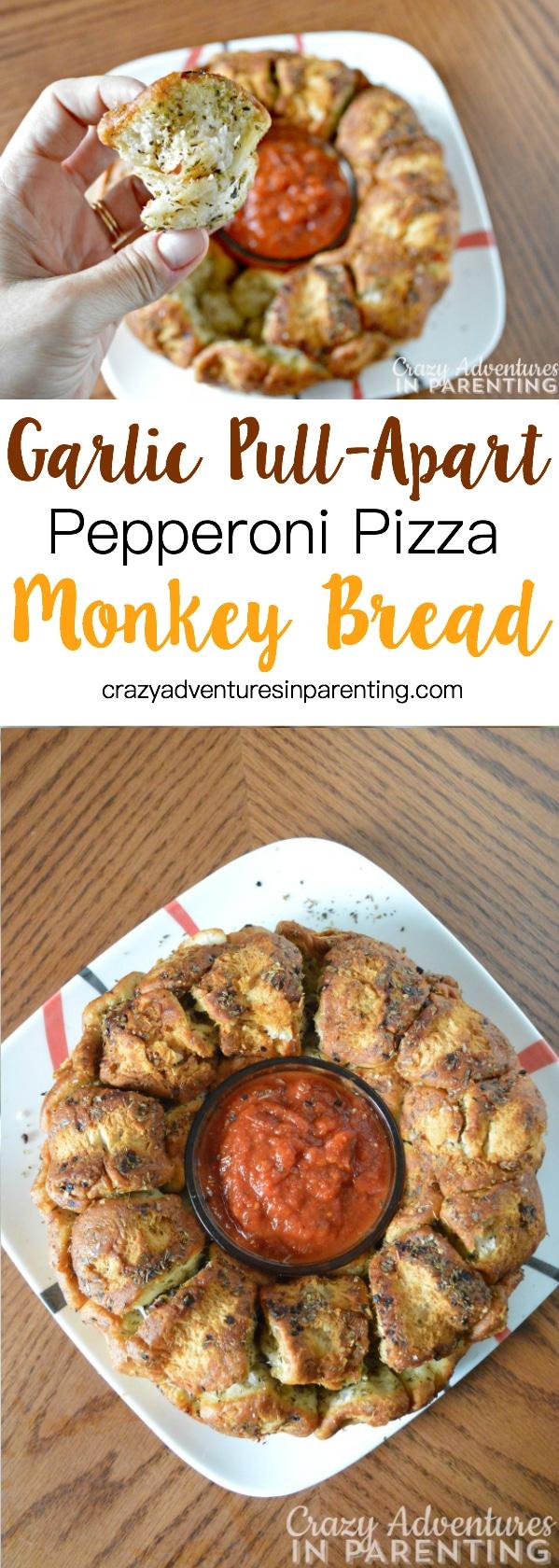 Pizza Pull Apart Monkey Bread