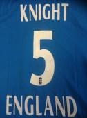 Signed England Women's Cricket shirt