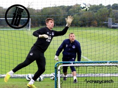 1. Everton FC & Crazy Catch