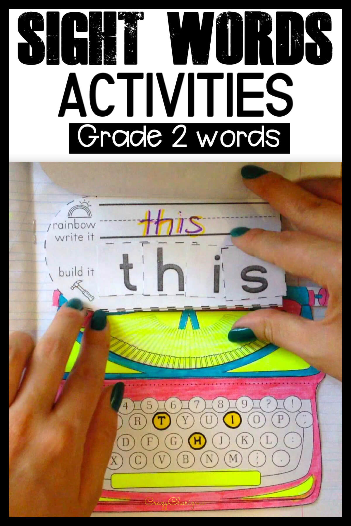 Dolch Sight Words Grade 2
