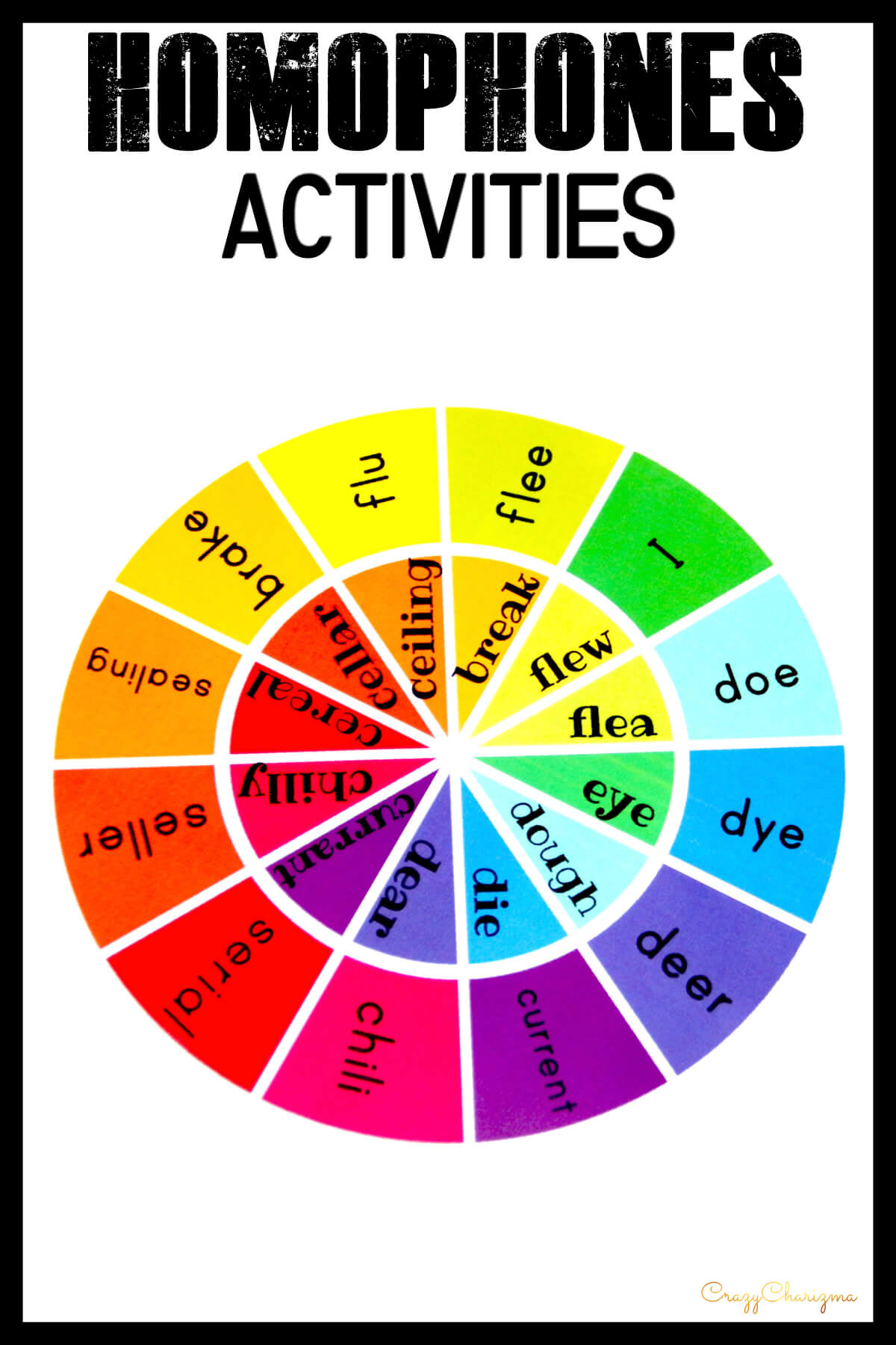 Homophones Activities 4th Grade And 3rd Grade