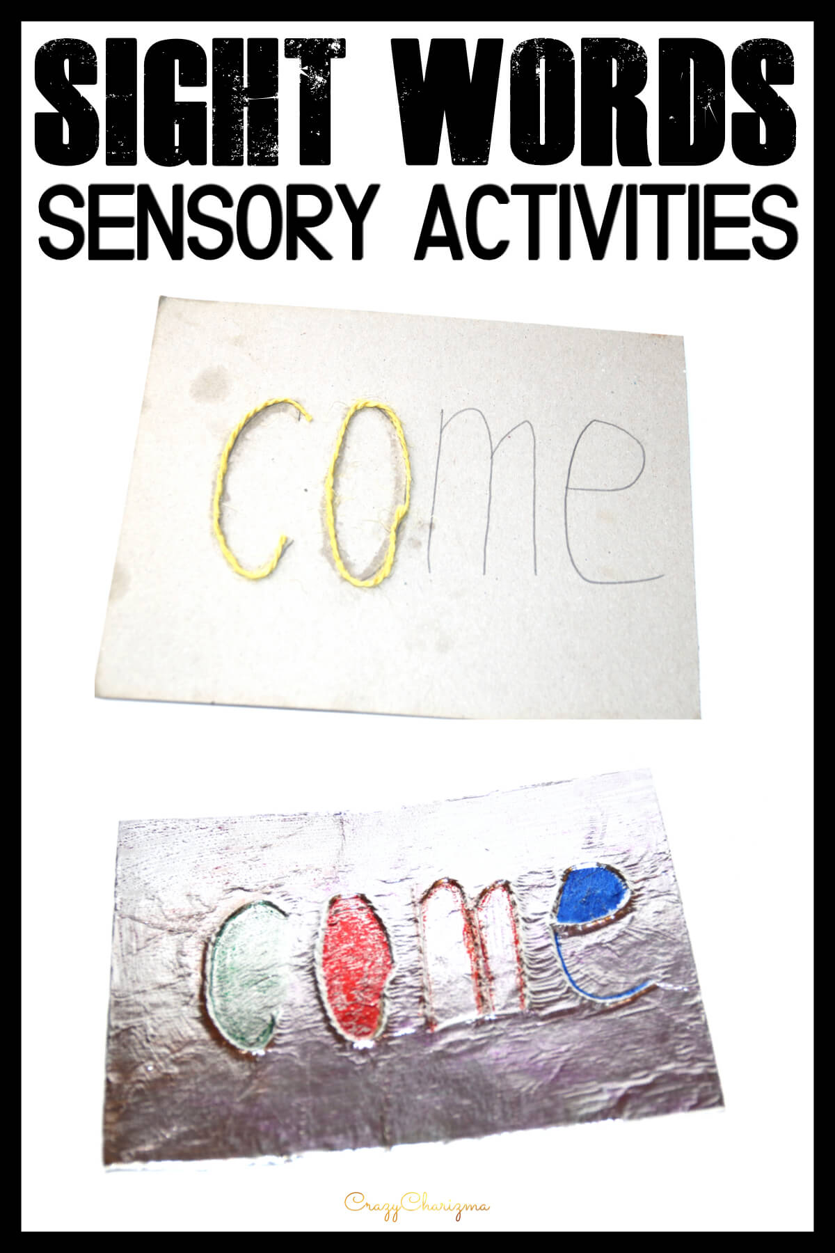 Sight Word Game And Worksheets In Kindergarten