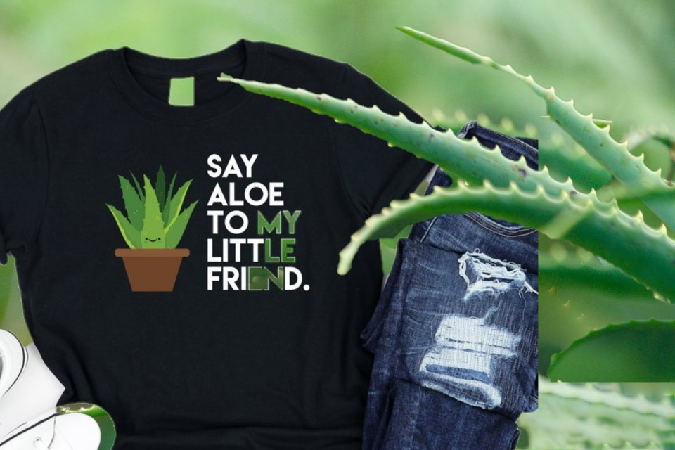 Say Aloe To My Little Friends T Shirt Crazy Plants Crazy Critters