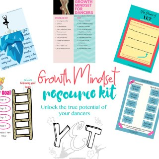 growth mindset for dancers
