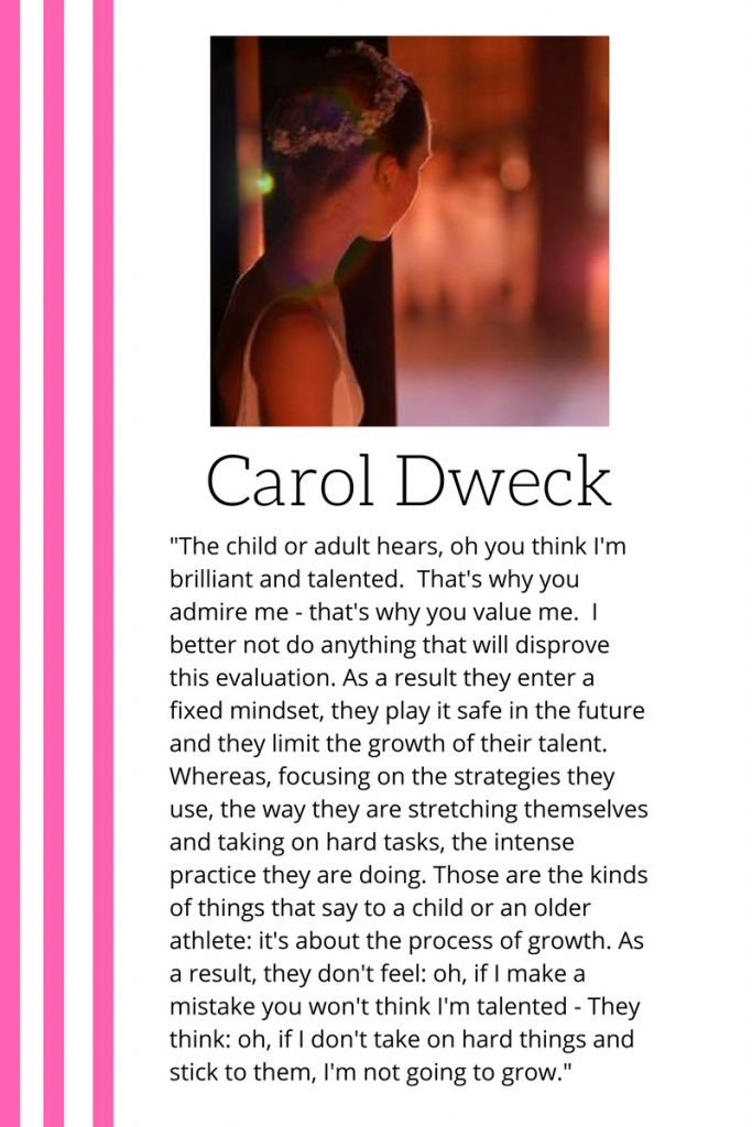 growth mindset dance