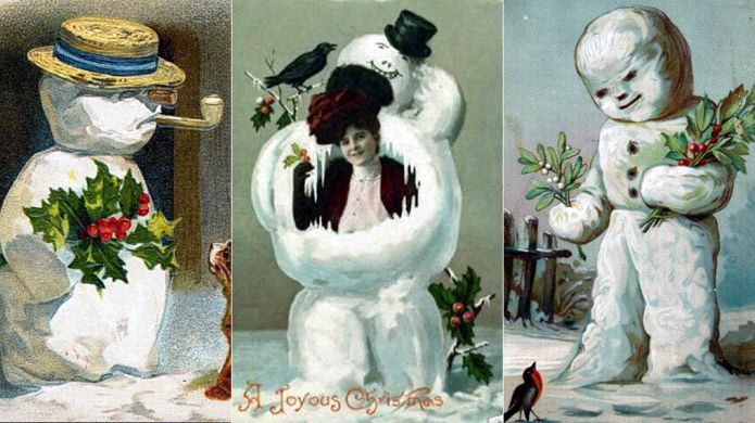 Back when snowmen were the stuff of nightmares