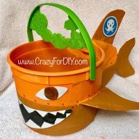 DIY Octonaut Halloween Bucket